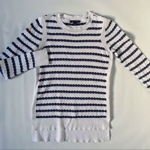 Tommy Hilfiger high low knit sweater